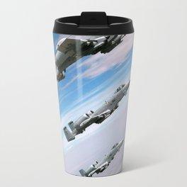 BEAUTIFUL AIRPLANE FORMATION Travel Mug