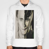 tom hiddleston Hoodies featuring Tom Hiddleston by Goolpia