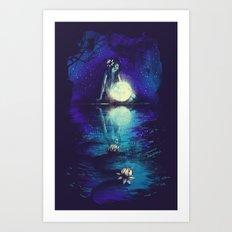 MOONCHILD Art Print