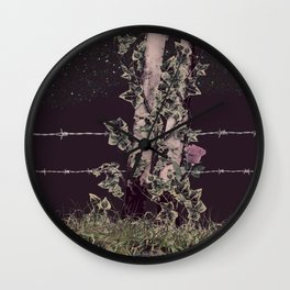 Ready Set Dead Wall Clock
