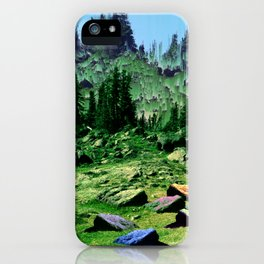 sacred hill iPhone Case