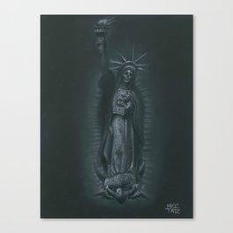 Virgen de Nueva York Canvas Print