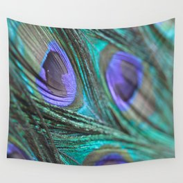 Peacock Fashion Wall Tapestry