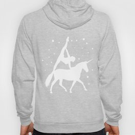Unicorn Equestrian Vaulting Horse Riding Acrobats Acrobatics Gift Hoody