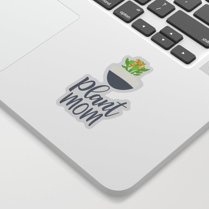 Plant Mom Society6 Sticker