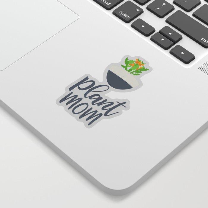 Potted Kalanchoe Plant Mom Pattern Sticker