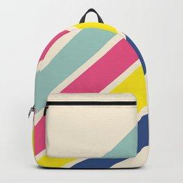 4 Retro Stripes #1 Backpack