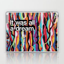 """It Was All A Dream"" Biggie Smalls Inspired Hip Hop Design Laptop & iPad Skin"