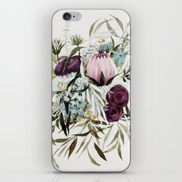 Rustic and Free Bouquet iPhone Skin