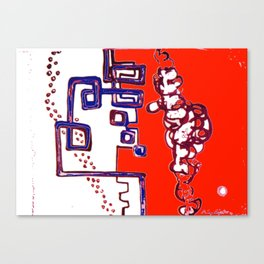 Progressive Triplet                 by   Kay Lipton Canvas Print