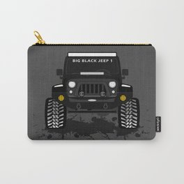 BIG BLACK JEEP 1 Carry-All Pouch