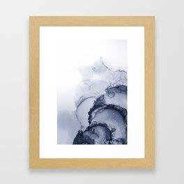 BLUE INK 88 Framed Art Print