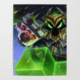 Final Boss Veigar League Of Legends Poster