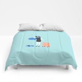 traveling is always good Comforters