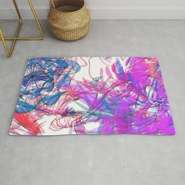 It's alive: serendipity - 3D Space Art Rug