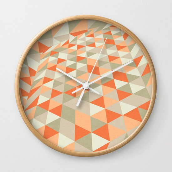 Triangulation Wall Clock
