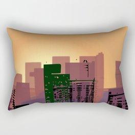 Sunset over San Francisco Rectangular Pillow
