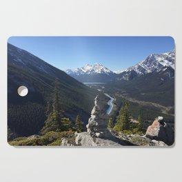 Mount Rundle, May 2015 - 001 Cutting Board