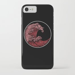 Abstract wave 3 iPhone Case