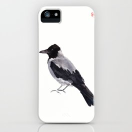 Hooded Crow iPhone Case