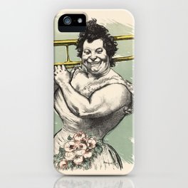 Marguerite Tromboniste iPhone Case