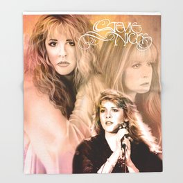 Stevie Nicks | Art Print Throw Blanket