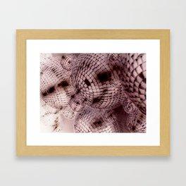 NegaMusic Framed Art Print