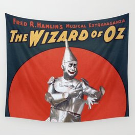 The Tin Man Wall Tapestry