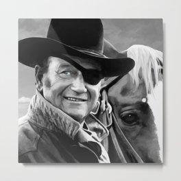 John Wayne @ True Grit #1 Metal Print