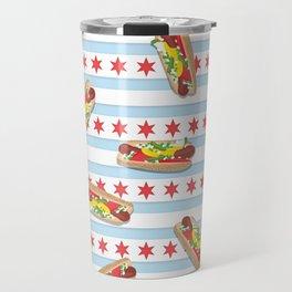 Chicago Hot Dogs Travel Mug