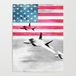 Air Force USA USAF Poster