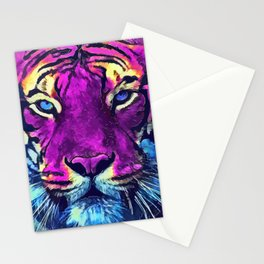 tiger purple spirit #tiger Stationery Cards