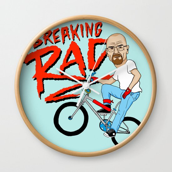 Breaking Rad Wall Clock