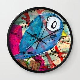 Bluebelle  - Quirky Bird Series Wall Clock