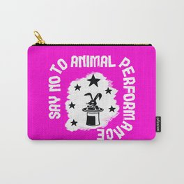 Say NO to Animal Performance -Rabbit Carry-All Pouch