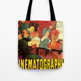 VINTAGE LUMIERE MOVIE POSTER Tote Bag