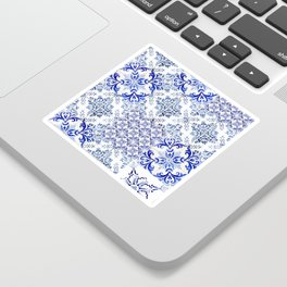 Azulejo VIII - Portuguese hand painted tiles Sticker