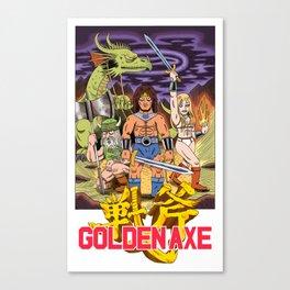 GOLDEN AXE Canvas Print