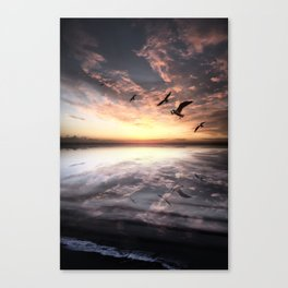 Water and Heaven Canvas Print