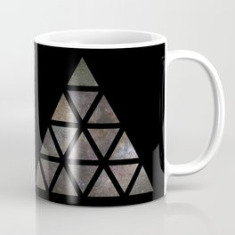 Galaxy Triangular Multicolor Coffee Mug