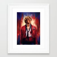 les miserables Framed Art Prints featuring Les Miserables  by symphonikaa