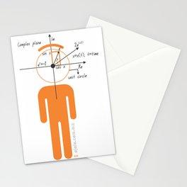 decaf euler Stationery Cards