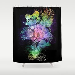 Growing A Mind Shower Curtain