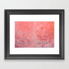 Pinky Pink Framed Art Print