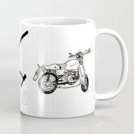 Dirty Bikes Dirty Minds Coffee Mug