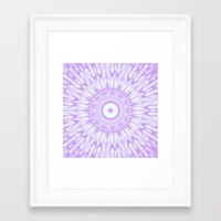 lavender Framed Art Prints featuring Lavender. by SimplyChic