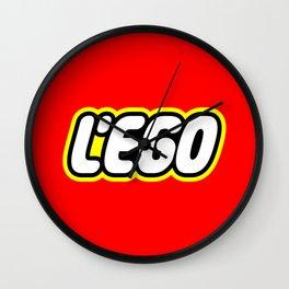 LE EGO Wall Clock