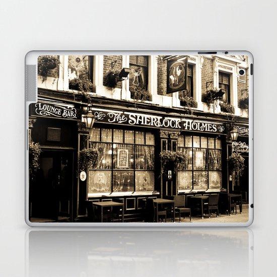 The Sherlock Holmes Pub London Laptop & iPad Skin