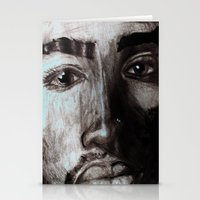 tupac Stationery Cards featuring Pop Cult™ - Tupac  by Lina Barbarin - Pop Cult™ & Aminals™