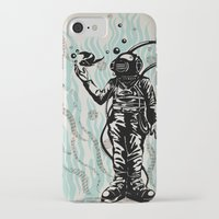diver iPhone & iPod Cases featuring DIVER by taniavisual